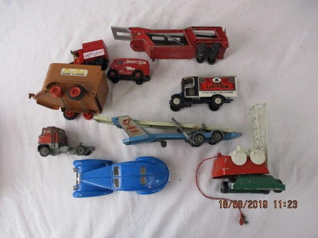 Job lot of Corgi, Burago and others, to include cars, Trucks etc.  image