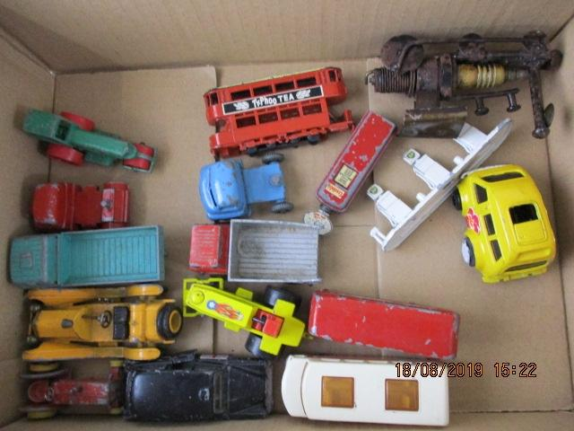 Job lot of diecast Moko Matchbox, made by lesney plus others.  image