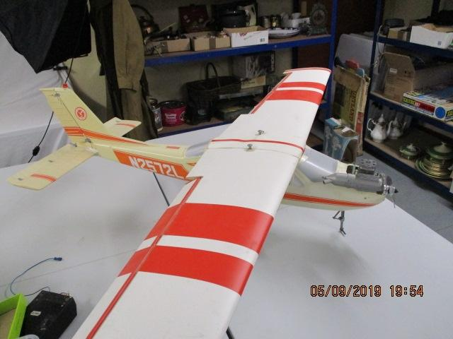 N2572L Cessna 177 R/C Aviomodelli, model aircraft plane, with petrol / diesel /glow fuel  engine, 170cm wing span 120cm long  image