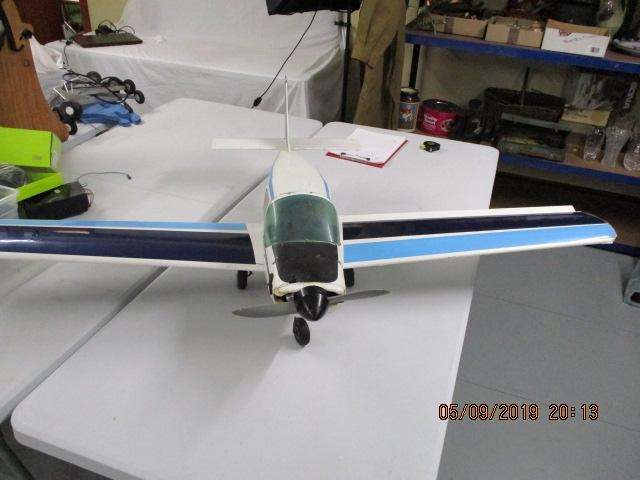 G-Rowl model petrol / diesel /glow fuel  engined R/C aircraft plane, 150cm wing span 106 cm long, with engine & electrics  image