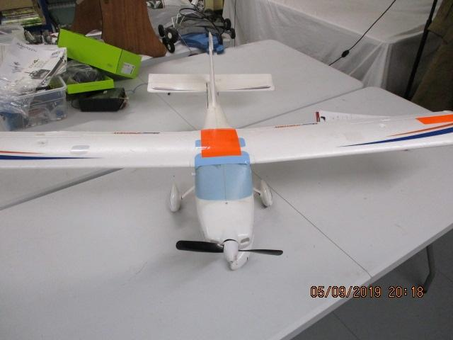 Hobby Zon N803GM model, R/C aircraft plane GTASAIR sportsman with propeller, 135cm wing span, 95cm long  image