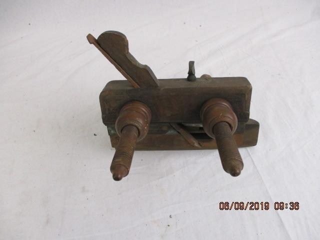 100 year old adjustable rebate plane  image