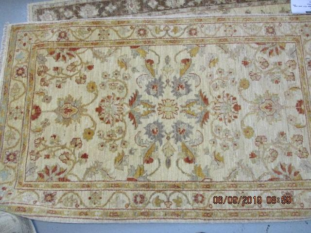 Zeigler hand knotted rug 100% pure wool pile 156cm x 93cm RRP �400  image