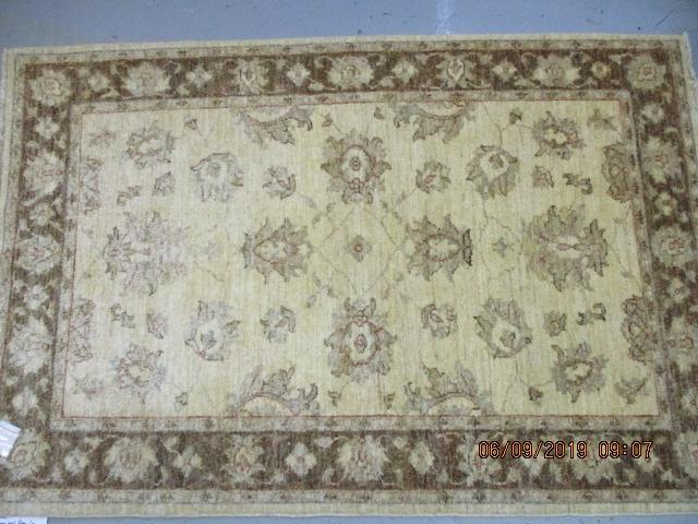 Zeigler hand knotted rug 100% pure wool pile 144cm x 97cm RRP �452  image