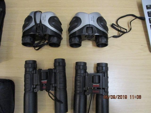 4 pairs of binoculars 2 Prakica 12 x 25 sc and 2 others ideal for bird watching  image