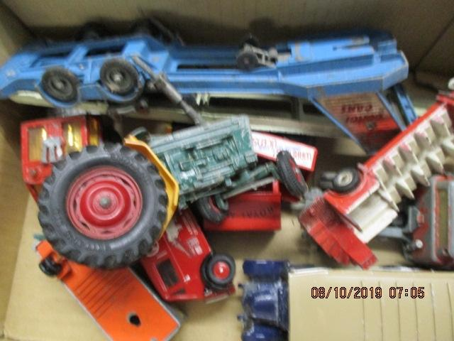 Quantity of die cast vehicles to include Corgi, Matchbox, Dinky.  image