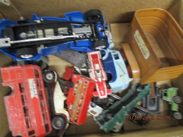 Selection of die cast vehicles to include Corgi, Burago, Matchbox etc.  image