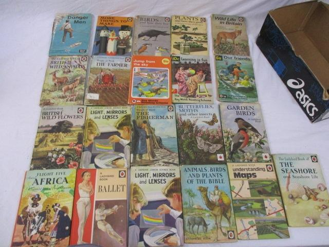 Vintage collection of Ladybird books to include The seashore, understanding maps, The fisherman etc, 21 in total.  image