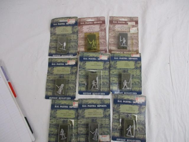 Large collection of Ral Partha Imports metal war gaming figures  image