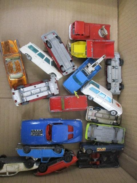 Selection of Corgi/Husky die cast vehicles.  image