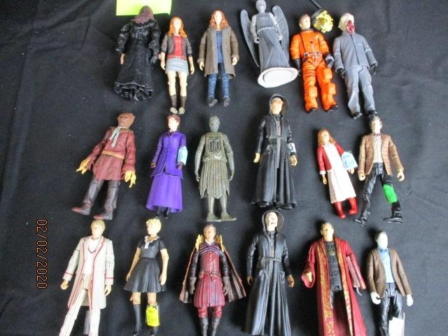 Large collection of Doctor Who action figure toys figures  image