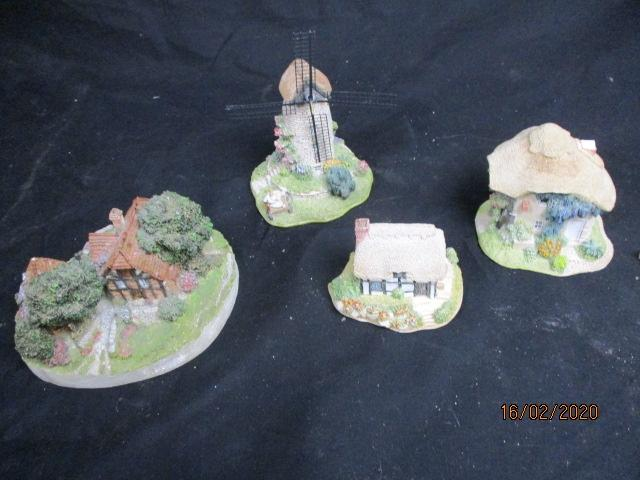 Lilliput lane collectable cottages x 4.  image