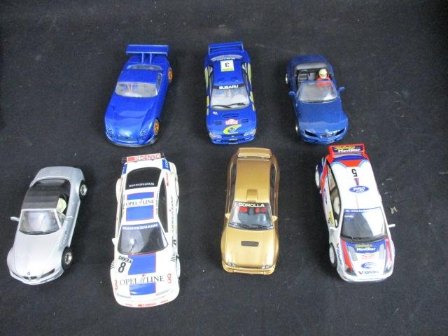 Collection of 7 Scalextric cars  image