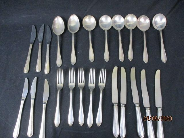 Collection of vintage cutlery.  image