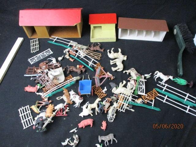Large Quantity of Britans Vintage Farmyard items and others  image
