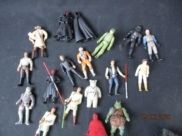 Collection of Vintage modern Unboxed Star Wars Action Figure Toys  image