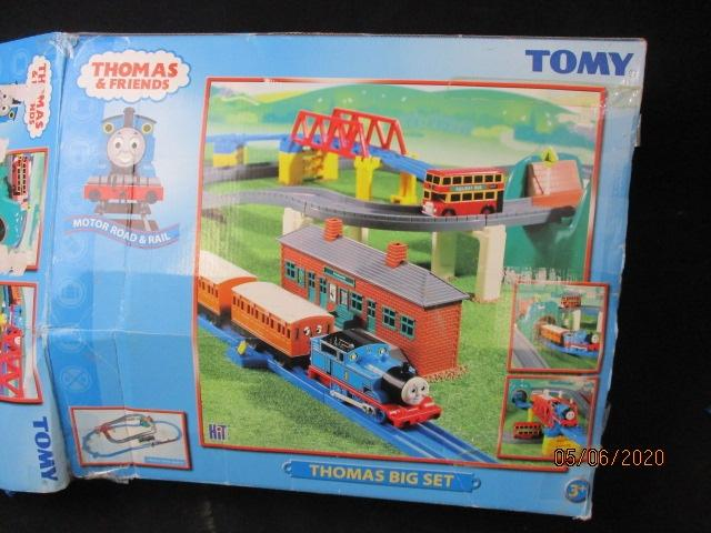 Tomy Thomas The Tank Engine and Friends Train Set - Unchecked  image
