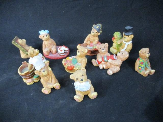 Job lot figurines - The Teddy bear collection. For Charity  image