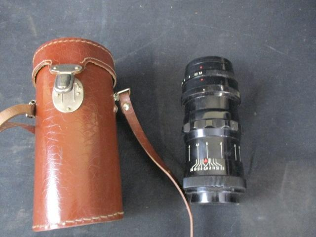 Russian U.S.S.R Telemax camera lens 22-2 5.6/200  image