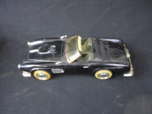 Vintage tin plate car possibly Minster  image