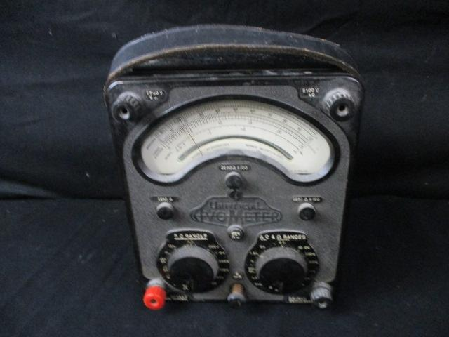 Vintage universal IVO Meter to test electric  image