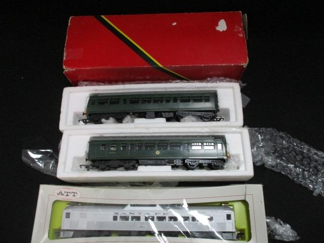 3 Boxed carriages to include ATT and Hornby  image
