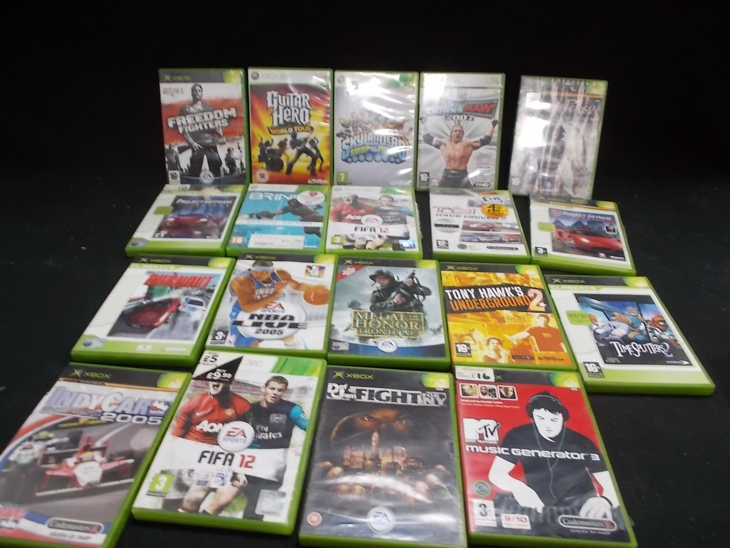 Selection of Xbox 360 games 20 in total.  image