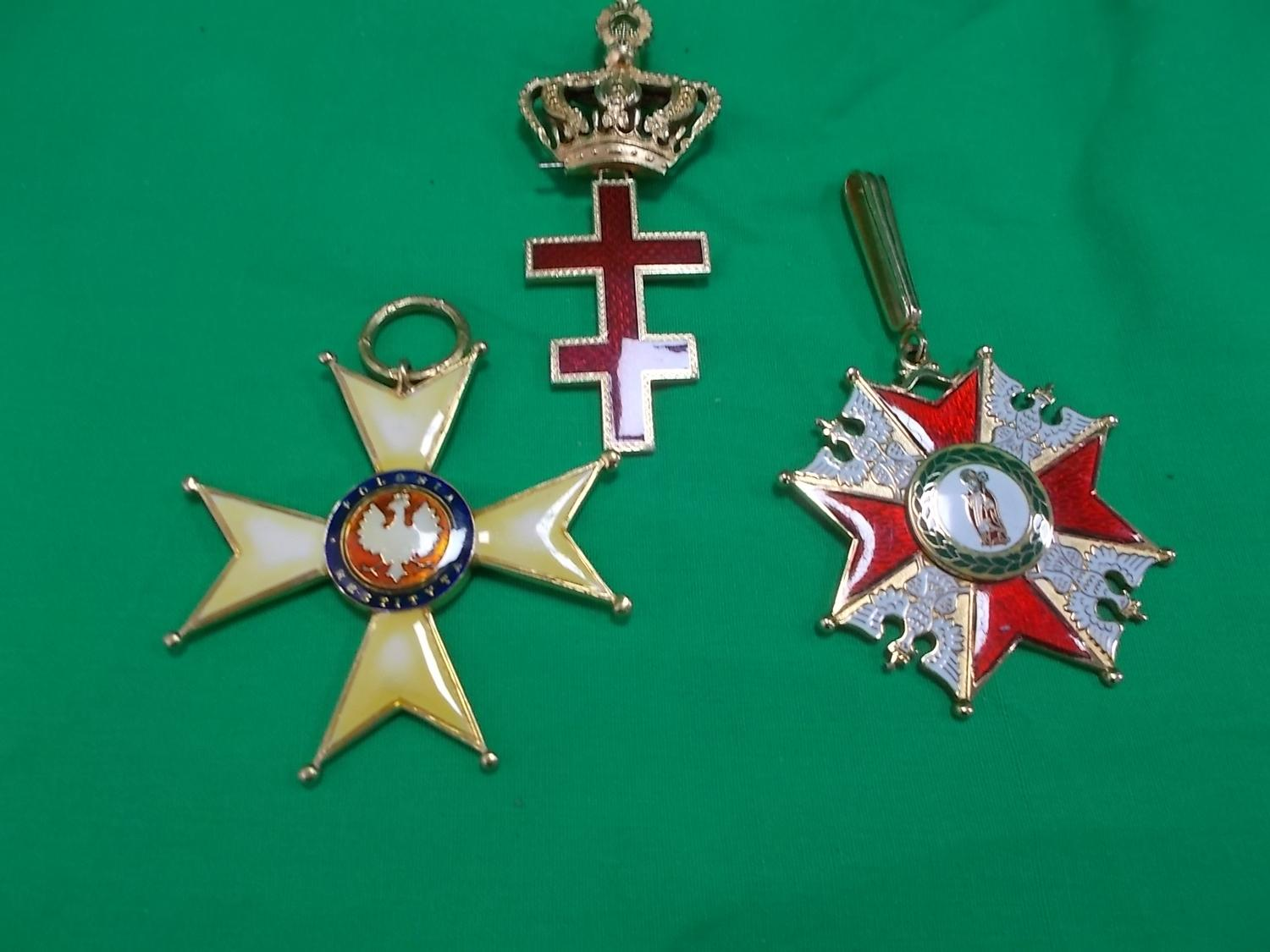 Trio of military orders.  image