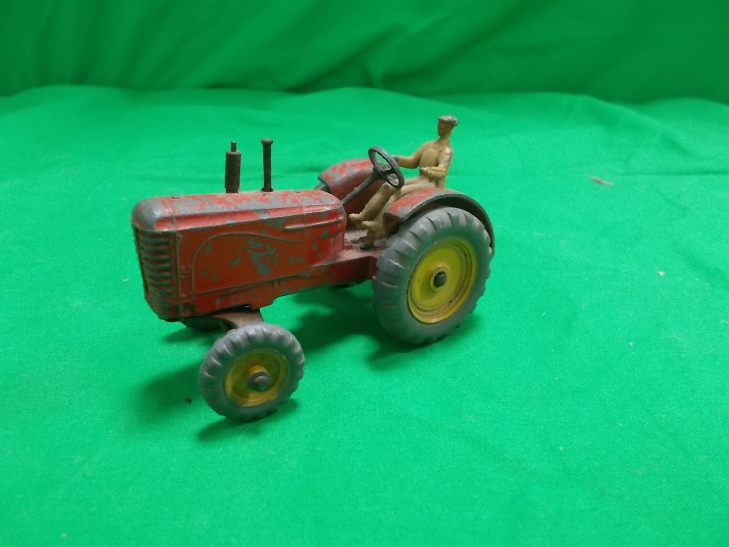 Dinky 27a Massey Harris Tractor.  image