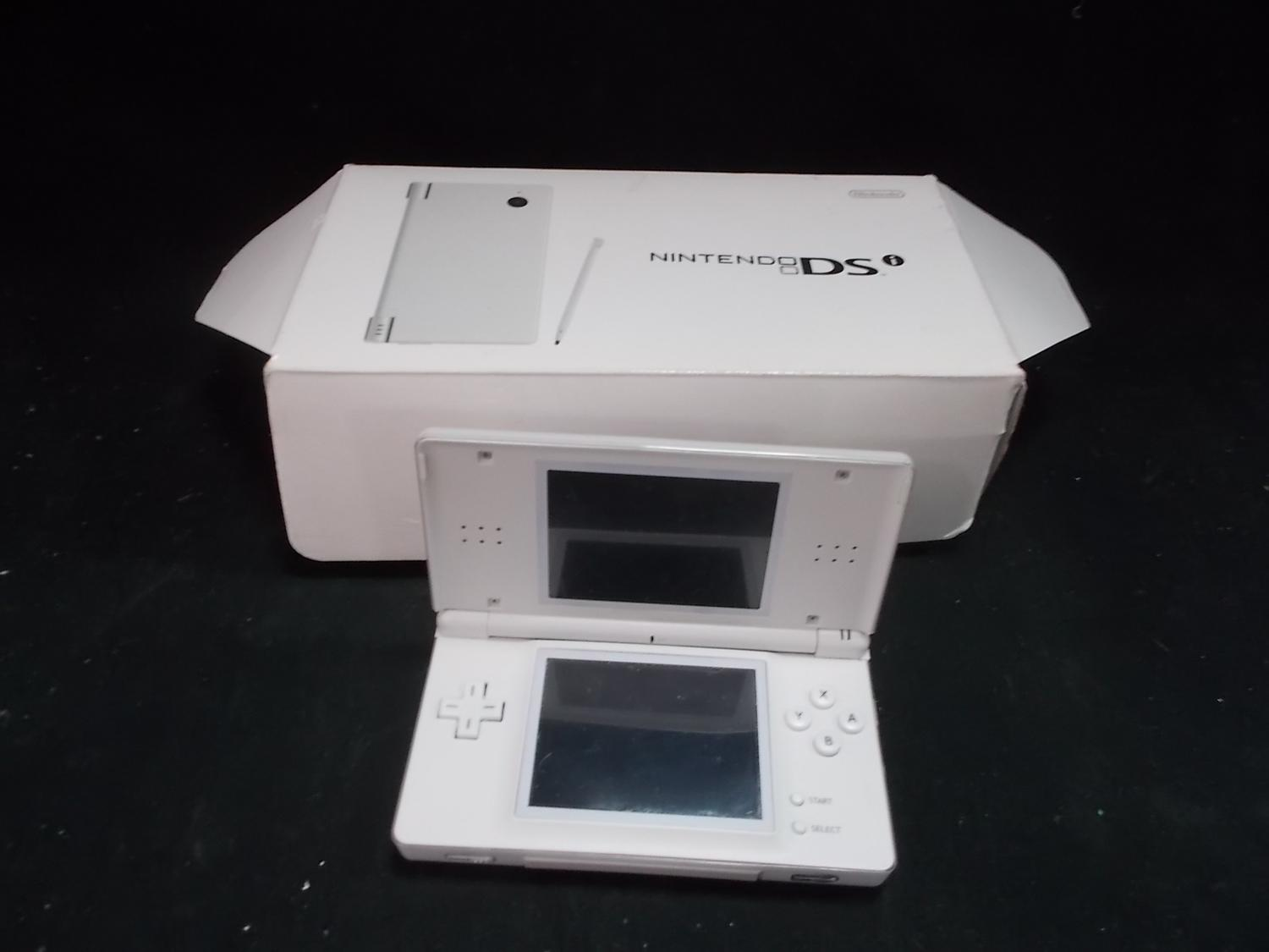 Nintendo DS lite hand held console.  image