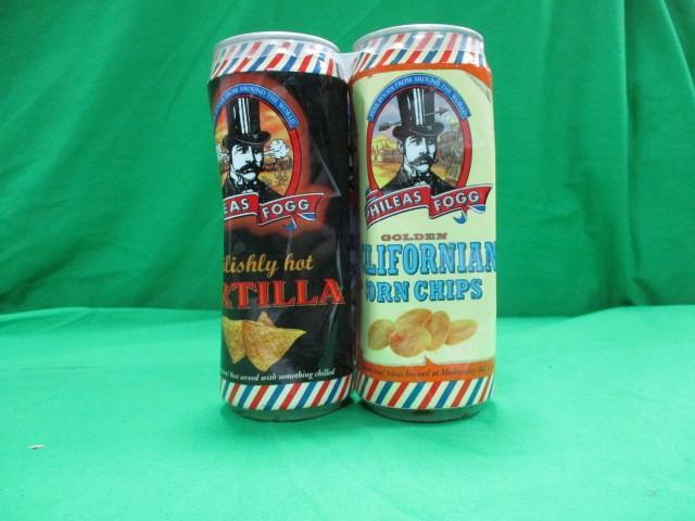 4x 125g Phileas Fogg food cans  image