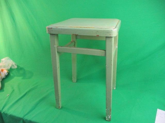 Vintage kitchen stool.  image