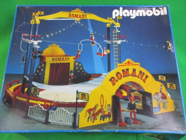 Playmobil 3720 Romani circus, boxed with instructions, not checked.  image