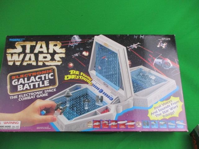 Tiger electronics Star wars Galactic battle boxed.  image