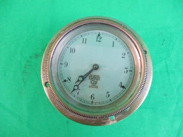 Vintage Smith of London dashboard clock  image
